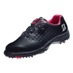 ゴルフ用スパイクシューズ スタンダードモデル ブラック(黒) 25.0cm