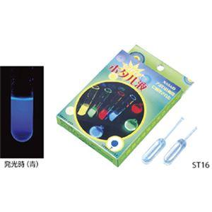 (まとめ)光るホタル液 ST16(青)【×5セット】の詳細を見る