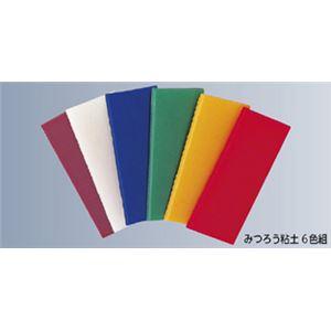 (まとめ)みつろう粘土 入数:6色各1枚【×5セット】の詳細を見る