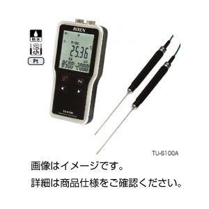 防水型デジタル温度計(センサー付)TU-6100Aの詳細を見る