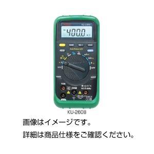 デジタルマルチメーターKU-2608の詳細を見る