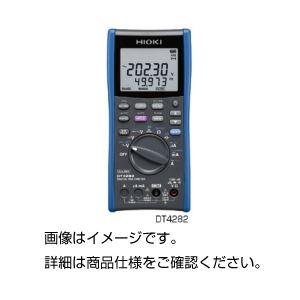 デジタルマルチメーターDT4282の詳細を見る