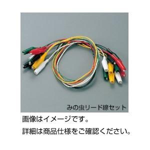 (まとめ)みの虫リード線セット 小 入数:赤黒緑黄白各2本計10本【×5セット】の詳細を見る