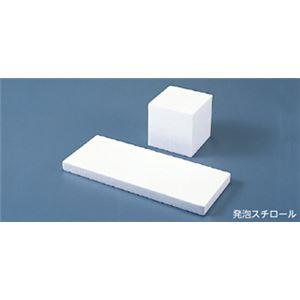 (まとめ)発泡スチロール板 12×30×2cm 10枚 入数:10枚【×10セット】