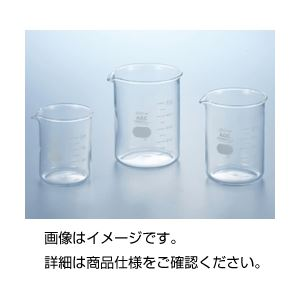 (まとめ)硼珪酸ガラス製ビーカー(IWAKI)1000ml【×3セット】の詳細を見る
