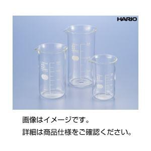 (まとめ)硼珪酸ガラス製トールビーカー100ml(HARIO)【×10セット】の詳細を見る