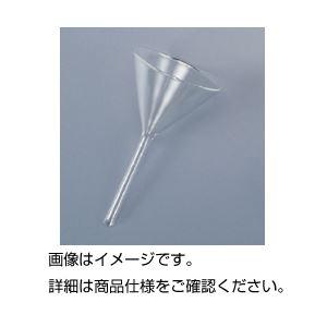 (まとめ)ガラス製ロート 90mm【×10セット】の詳細を見る