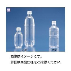 (まとめ)角型プラスチックボトル500ml 4本組【×20セット】の詳細を見る
