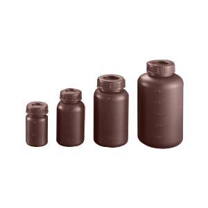 (まとめ)ポリ遮光瓶(広口)中栓付S-250W【×50セット】の詳細を見る