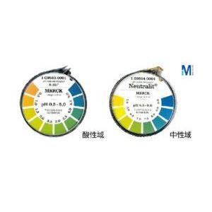(まとめ)メルクpH試験紙ロールタイプ 全域 1~14【×10セット】の詳細を見る