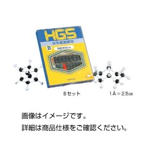 (まとめ)HGS有機化学研究用模型Bセット【×3セット】の詳細を見る