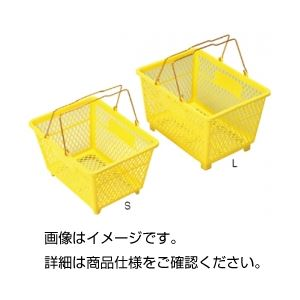 (まとめ)手提バスケット L【×3セット】の詳細を見る