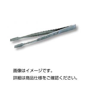 (まとめ)ピンセット G(125mm) 平(切手用)【×20セット】の詳細を見る