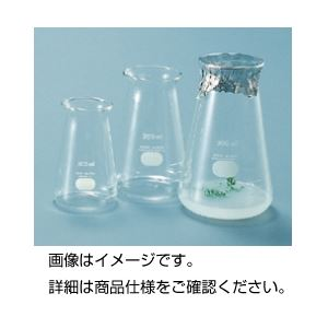 (まとめ)培養フラスコ 広口200ml【×20セット】の詳細を見る