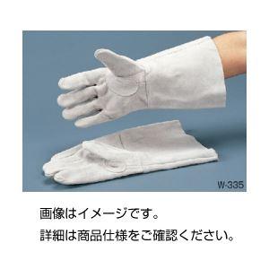 (まとめ)溶接手袋 W-335フリーサイズ(1双)【×5セット】の詳細を見る