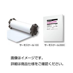 (まとめ)熱分布測定フィルム サーモスケール 200C【×5セット】の詳細を見る