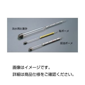 (まとめ)ボーメ比重計(砂糖ボーメ)【×10セット】の詳細を見る