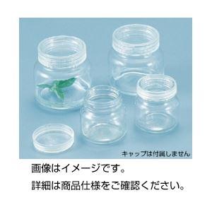 (まとめ)丸型培養瓶 CB-3 入数:24【×3セット】の詳細を見る