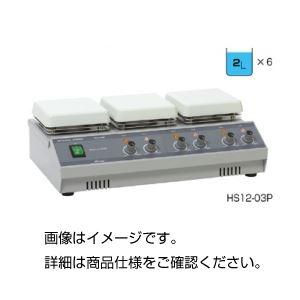 多連式ホットプレートスターラー HS12-03Pの詳細を見る