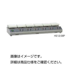 多連式ホットプレートスターラー HS12-06Pの詳細を見る