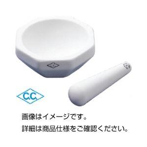 (まとめ)アルミナ乳棒 HD-2-B 140mm【×10セット】