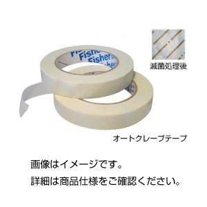 (まとめ)オートクレーブテープ 12.7mm×55m【×10セット】の詳細を見る