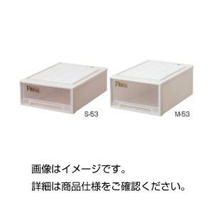 (まとめ)収納ケース M-53【×3セット】の詳細を見る