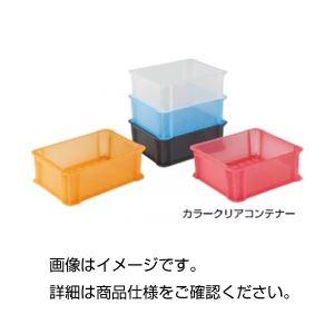 (まとめ)カラークリアコンテナ 910BK ブラッククリア【×5セット】の詳細を見る