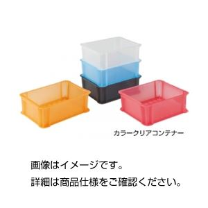 (まとめ)カラークリアコンテナ 910OR オレンジクリア【×5セット】の詳細を見る