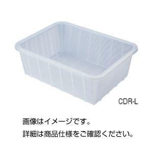 (まとめ)深型バスケット(クリア)CDR-L【×3セット】の詳細を見る