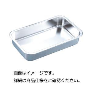 (まとめ)ステンレス長バット 浅型28A【×10セット】