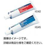 (まとめ)シリコーンRTV KE42W 脱酢酸 白【×10セット】