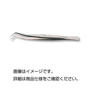 (まとめ)チタン製ピンセット 歯科用165mm【×3セット】の詳細を見る