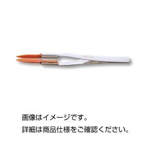 (まとめ)ピンセット(先端ベーク製)E1404【×3セット】の詳細を見る