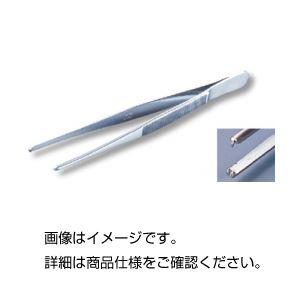 (まとめ)有鈎ピンセットU 110mm【×5セット】の詳細を見る