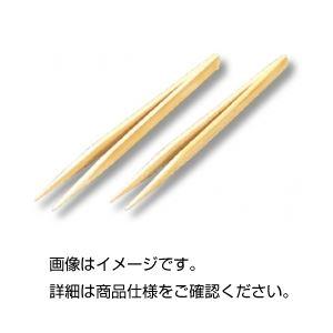 (まとめ)竹製ピンセット 全長250mm 【×10セット】 - 拡大画像
