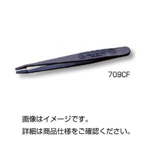 (まとめ)プラスチックピンセットNo.709CF 115mm【×10セット】の詳細を見る