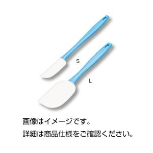 (まとめ)シリコンハンドヘラ L【×10セット】の詳細を見る