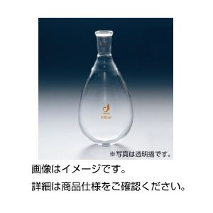 (まとめ)共通摺合茄子型フラスコ100ml 19/38【×3セット】の詳細を見る