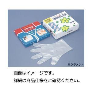 (まとめ)サクラメン手袋(100枚入) エンボス M【×5セット】の詳細を見る
