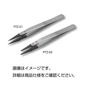 (まとめ)ESDピンセット PTZ-42【×10セット】の詳細を見る
