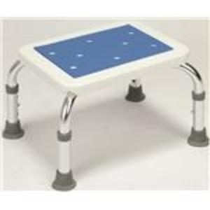 シャワーベンチ&ステップセット(シャワーチェアー ) アルミ製 高さ段階調整可 (入浴用品/介護用品)