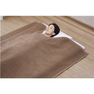 国産キャメル毛布(くりえり毛布) 【シングルサイズ】 140×230cm 日本製 - 拡大画像