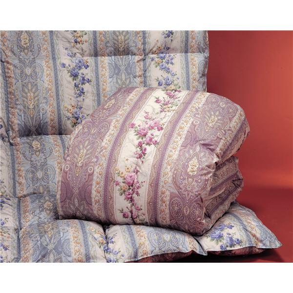 2万円で買える ホワイトダックダウン85%羽毛掛布団 ポーランド産 ピンク シングル