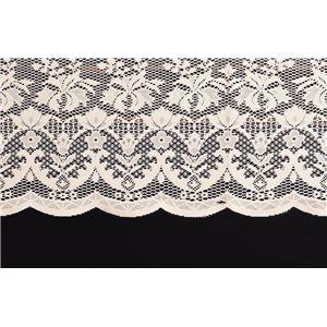 撥水加工レーステーブルクロスホワイト 140×180cm 長方形(小)