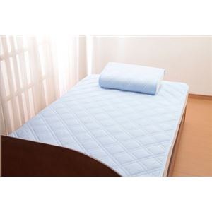 ひんやりタッチ軽寝具シリーズ 敷パット シングル2枚 - 拡大画像