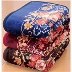 ニューマイヤー毛布&オーロラ敷パッドセットシングル6点セットの画像