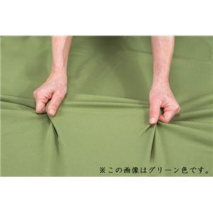 伸縮フィット式ソファーカバー(タテヨコストレッチ)3人掛用肘無し ブラウン