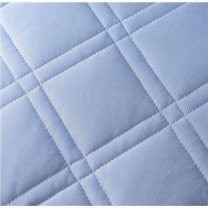 【クール スコール】テイジン「マイティトップII」使用 ひんやりタッチ軽寝具シリーズ 敷きパッド1枚 ダブル