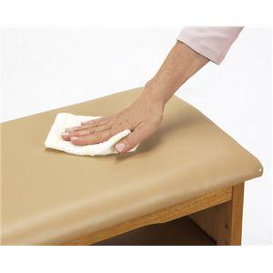 収納付き 玄関ベンチ/腰掛け椅子 【幅45cm】 木製 クッション座面 ガタつき防止付き